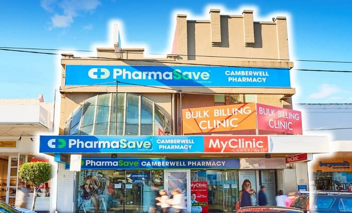 Camberwell retail property tipped for $11 million plus sale