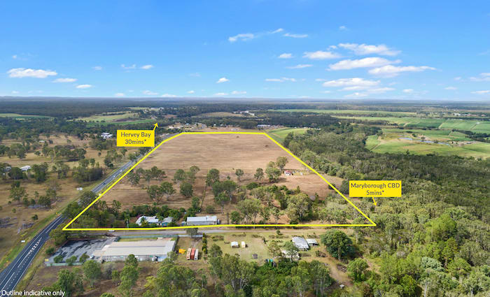 Maryborough development site hits the market for $3,375,000