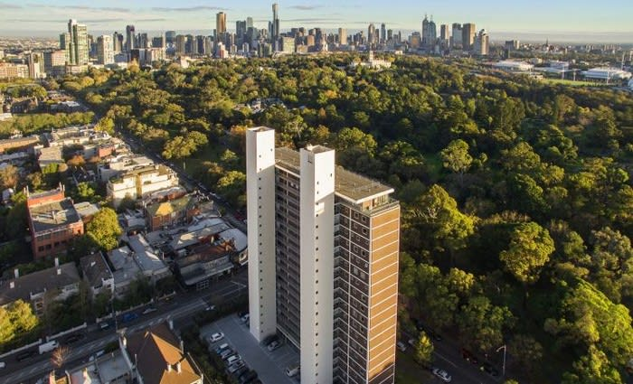 Robin Boyd's most coveted penthouse sold for $7.6 million in South Yarra