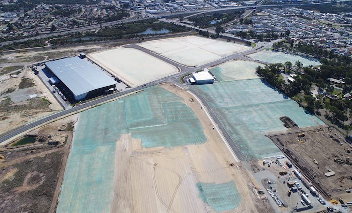 Silk secure lease in Perth Roe Highway Logistics Park
