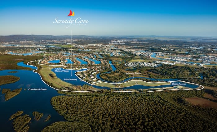 Serenity Cove, one of the Gold Coast's last masterplanned communities, hits the market