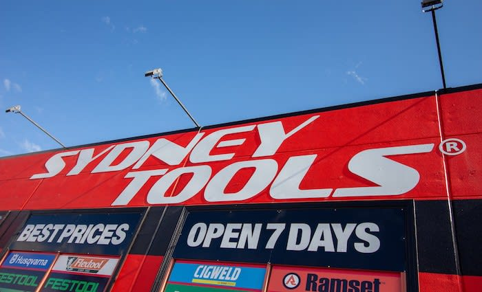 Sydney Tools to more than double retail footprint in expansion move
