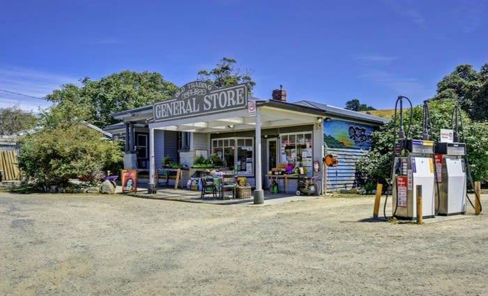 Century old corner store in Tasmania on the market