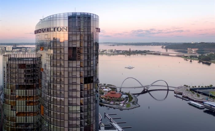 Ground floor of Perth's The Towers at Elizabeth Quay offered to market