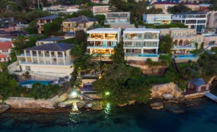 Top 20  Sydney trophy home listings shrink in 2019