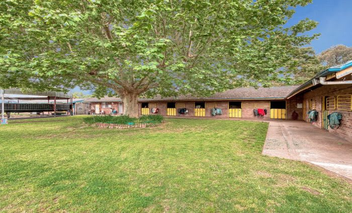 Horse trainer Clarry Conners sells Warwick Farm stables Victory Lodge