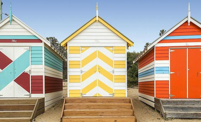 Local buys freshly built Brighton bathing box