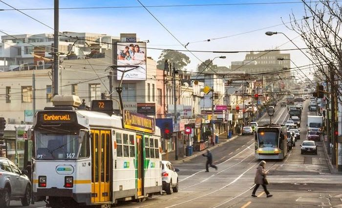 Burke Road, Camberwell commercial property sale values fall