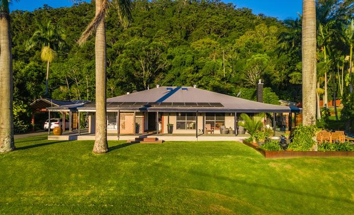 Currumbin Valley trophy home with mountain views listed