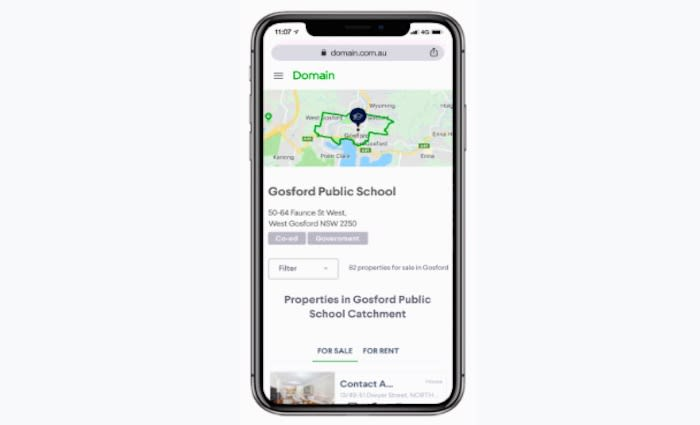 Domain launches school-based search for property-hunting parents