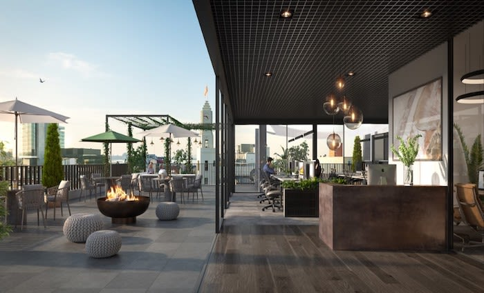 Up Property reveals plans for five level office building in Geelong CBD