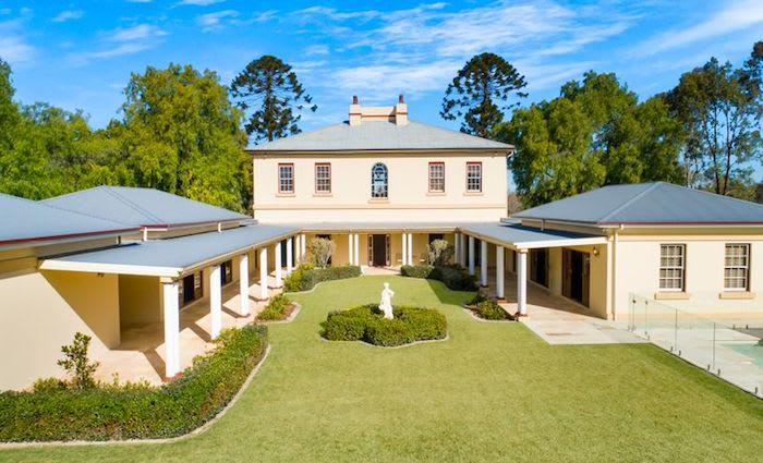 Heritage-listed 1839 Georgian mansion Horningsea Park listed