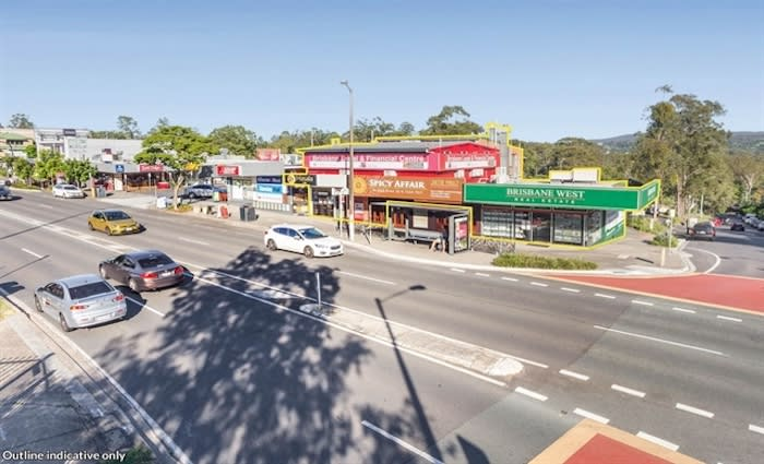 Fully tenanted commercial property for sale in Brisbane's Kenmore