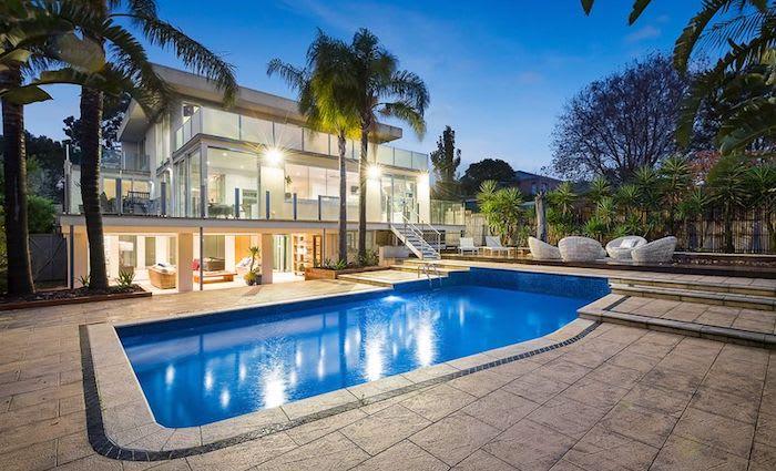 Fashion stylist Beate Tierney lists Kew resort style home