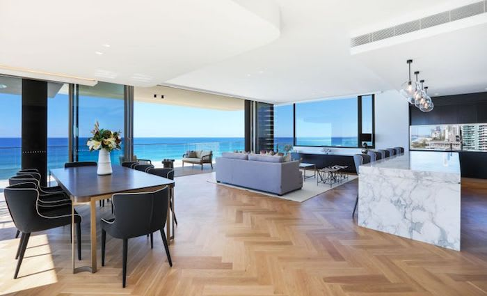 Main Beach, Gold Coast penthouse see's its price reduced from $9.75 million