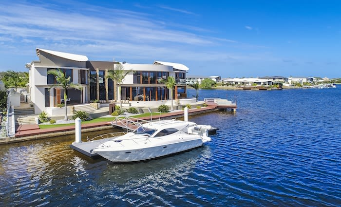 Waterfront Pelican Waters home set to sell for suburb record