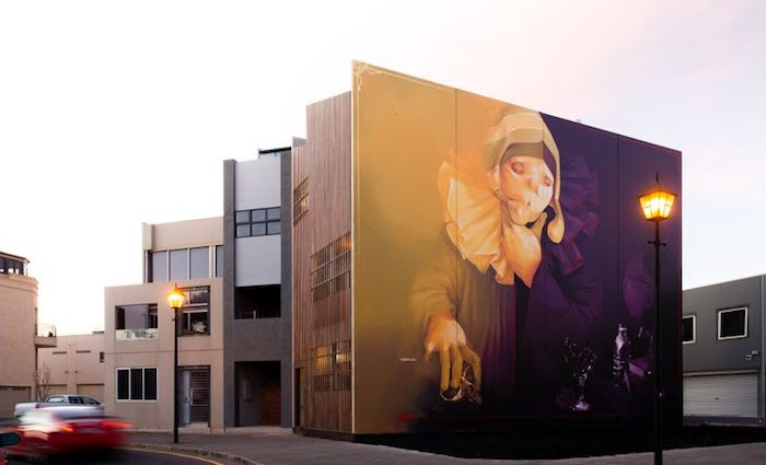 Inti Castro mural comes with Port Adelaide home