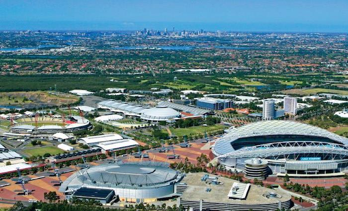 Sydney Olympic Park experiences big stock increase