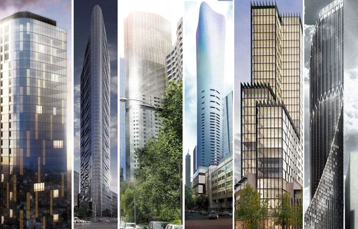 Six premier residential developments jostle for the spotlight