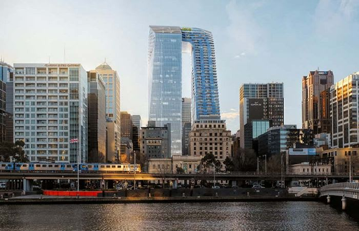 A new Melbourne icon squarely in Minister Wynne's hands: 447 Collins Street