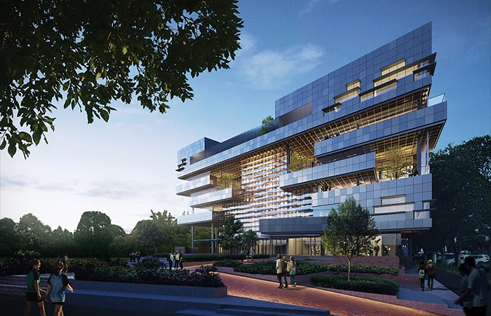 Hayball's South Melbourne vertical school wins on an international scale