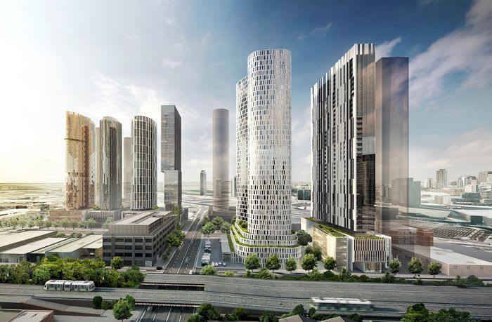 1500 new apartments slated for Fishermans Bend