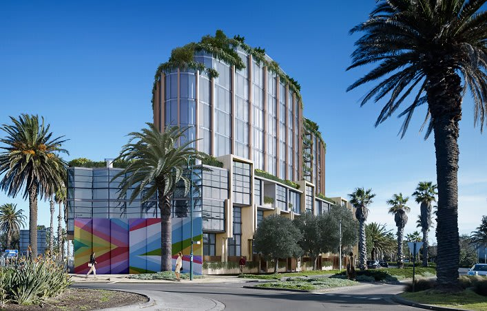 Port Melbourne's long running Waterfront Place saga enters a new phase