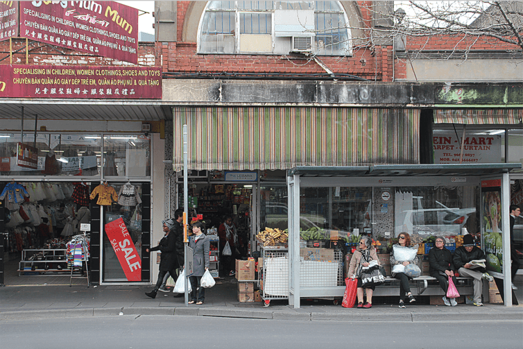 When a suburb's turn for gentrification comes...