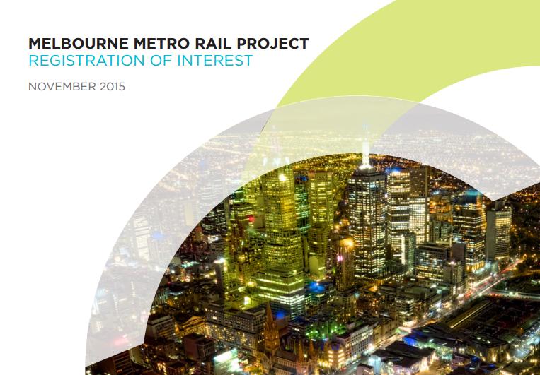 Melbourne Metro Authority seeks industry registrations of interest