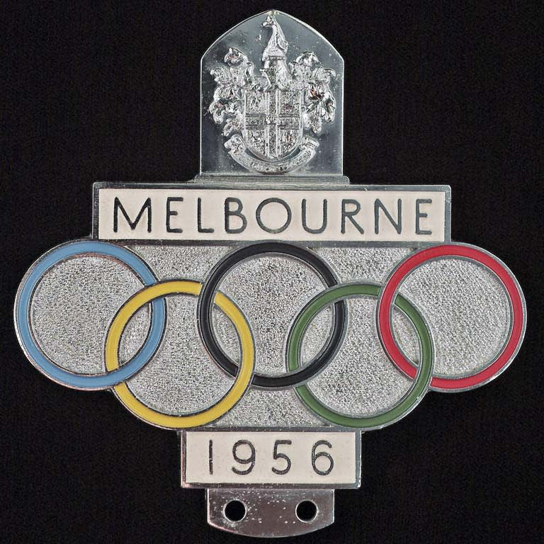 Memorabilia from the XVI Olympiad, Melbourne 1956