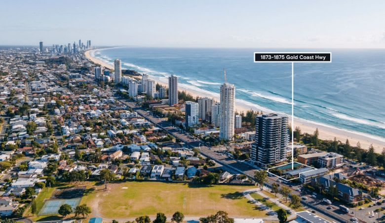 The site at 1873-1875 Gold Coast Highway. Image supplied