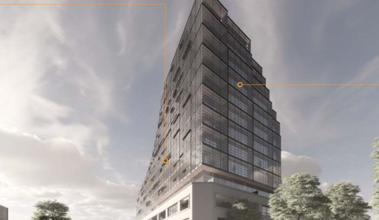 Source: Hayball Architects plans submitted to the City of Melbourne