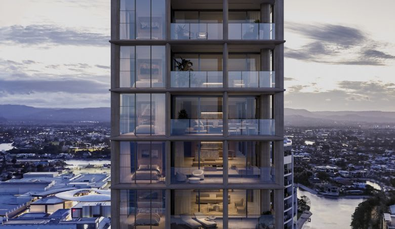 Aperture will rise 120m above Mary Avenue. Image supplied.