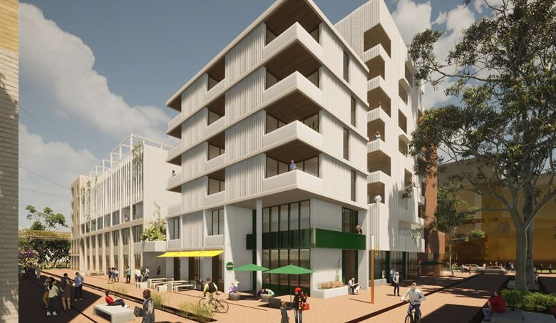 The East Village, East Bentleigh project. Image supplied
