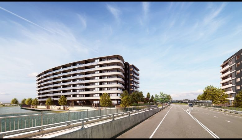 Aniko's proposed design for Athena Residences near the new site. Source: Gold Coast City Council