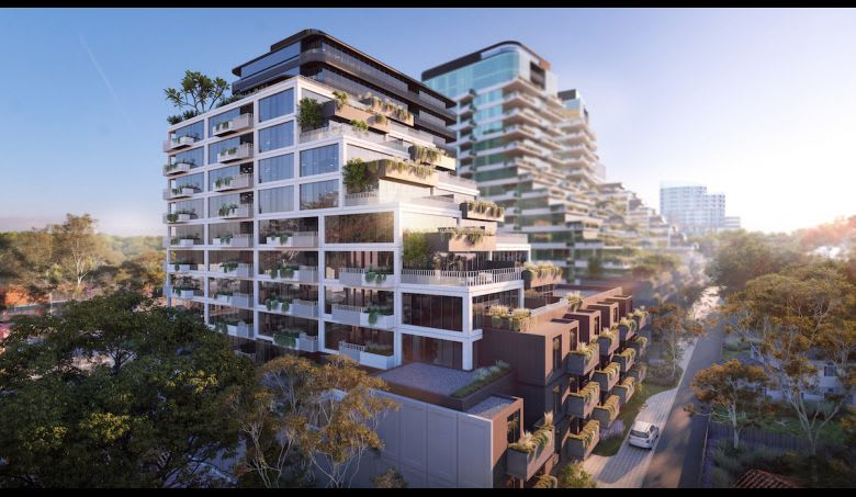 The first of four buildings at Samma Place. Image supplied