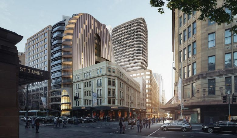 The plans submitted to the City of Sydney Council. Source: City of Sydney Council