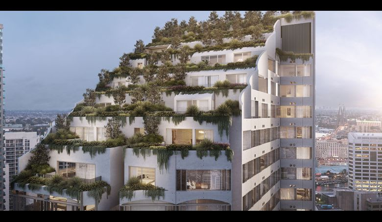Hutchinson are building Sydney's Castle Residences. Image supplied
