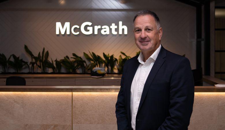 Eddie Law, McGrath's chief executive