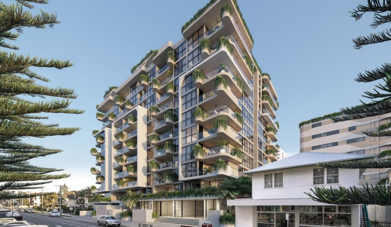 The proposed Esprit apartment building. Image supplied