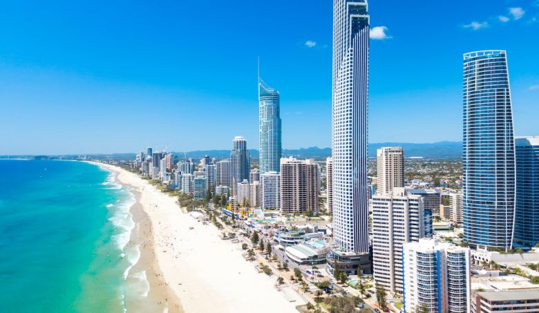 More than $42 billion worth of property was exchanged in Queensland in the quarter, up 93% year-on-year.