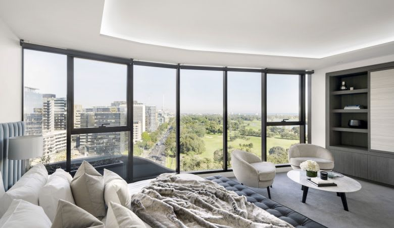 The Albert Place Residences sub-penthouse. Image supplied