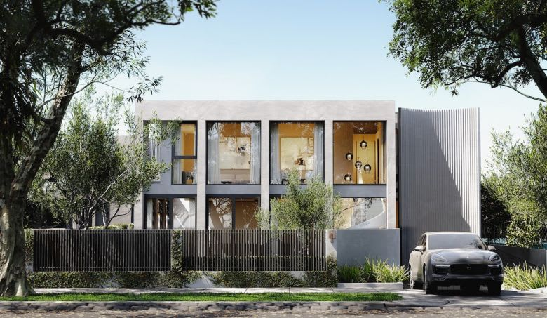 The proposed Armadale development. Image supplied