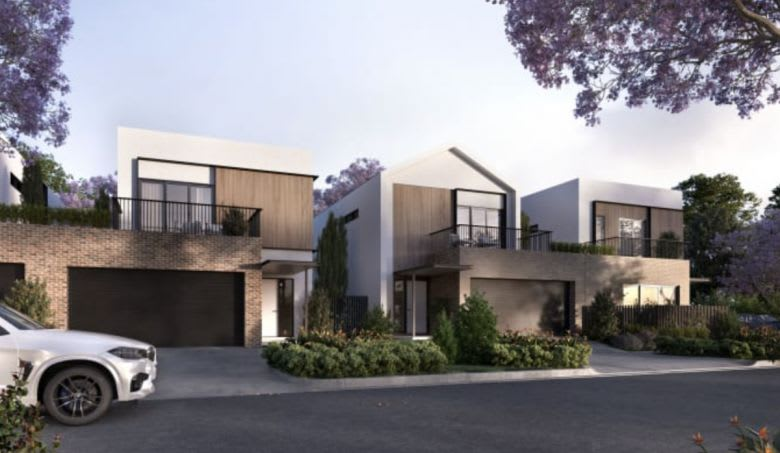 Haven townhomes in Keysborough. Image supplied