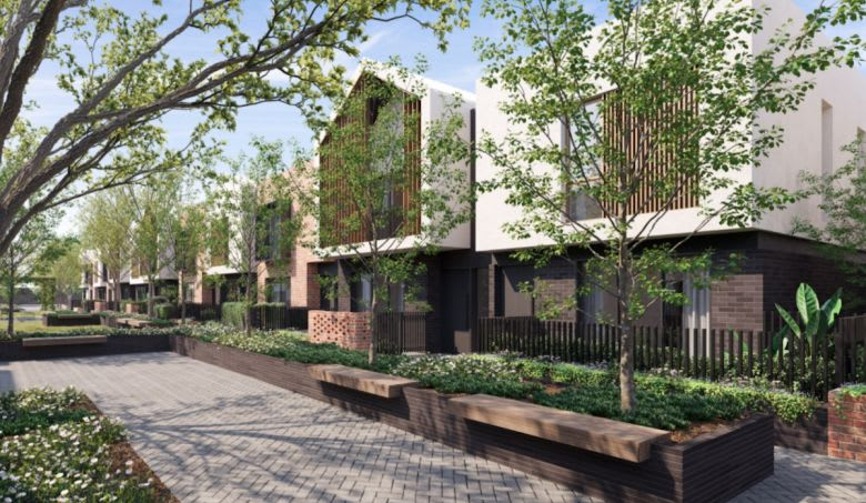 Cedar Woods Incontro townhomes. Image supplied