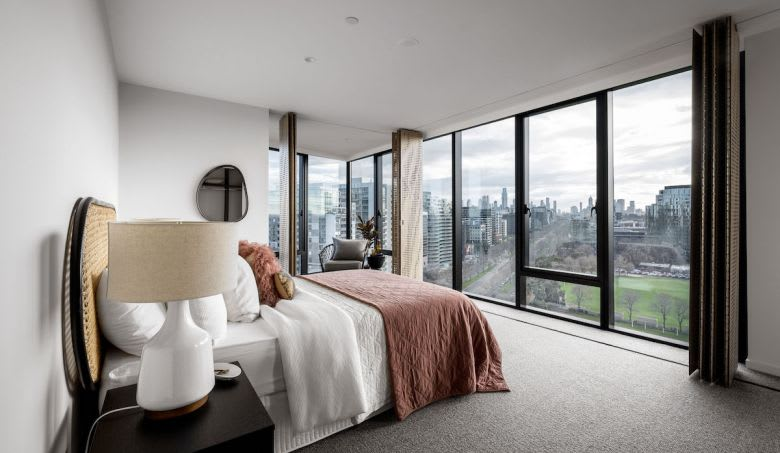 A bedroom in St Boulevard. Image supplied