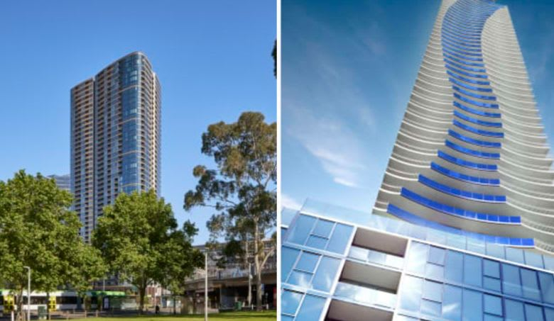 L to R, Melbourne Quarter and Melbourne Grand. Images supplied