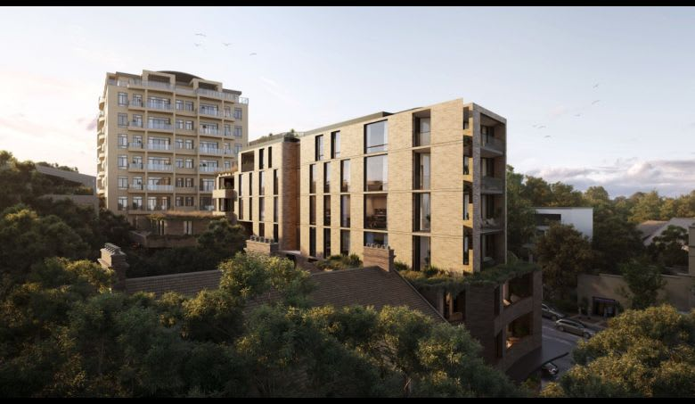 The proposed Mona Road development. Image supplied