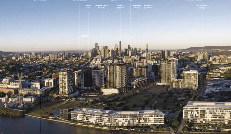 Newstead, one of Brisbane's hottest apartment address. Image supplied