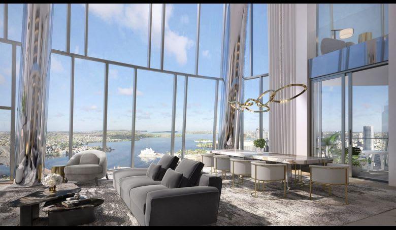 One Barangaroo apartment in Sydney